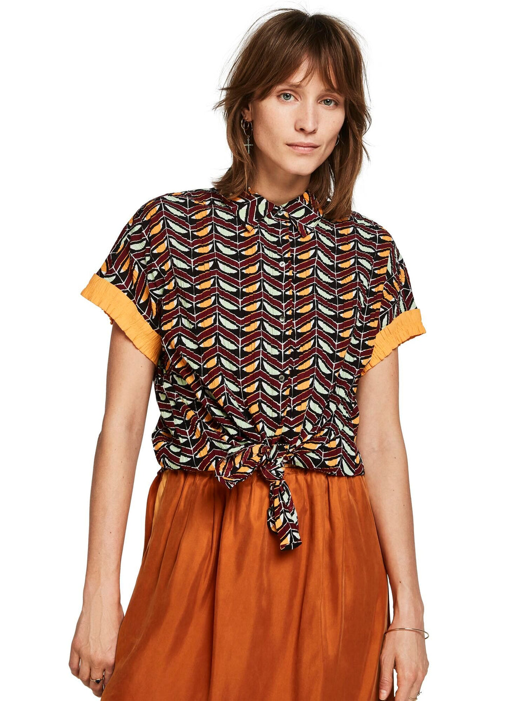SCOTCH AND SODA - Smocked Shirt online at PAYA boutique