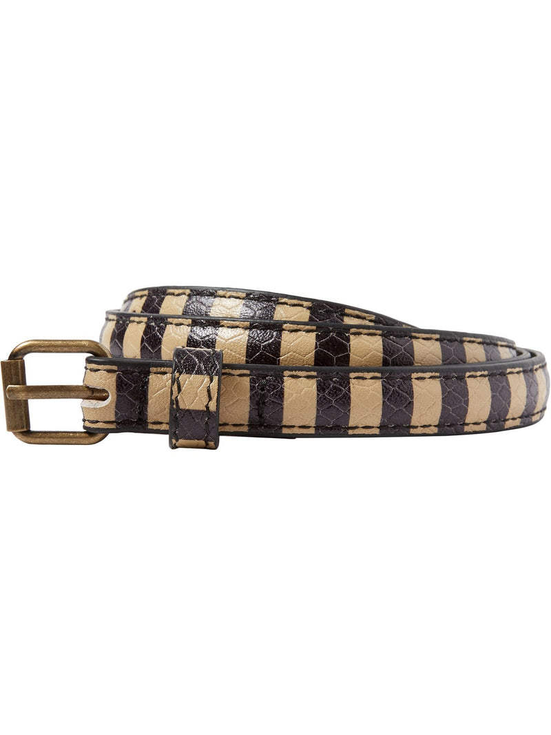 Buy Striped Leather Belt from SCOTCH AND SODA at paya boutique