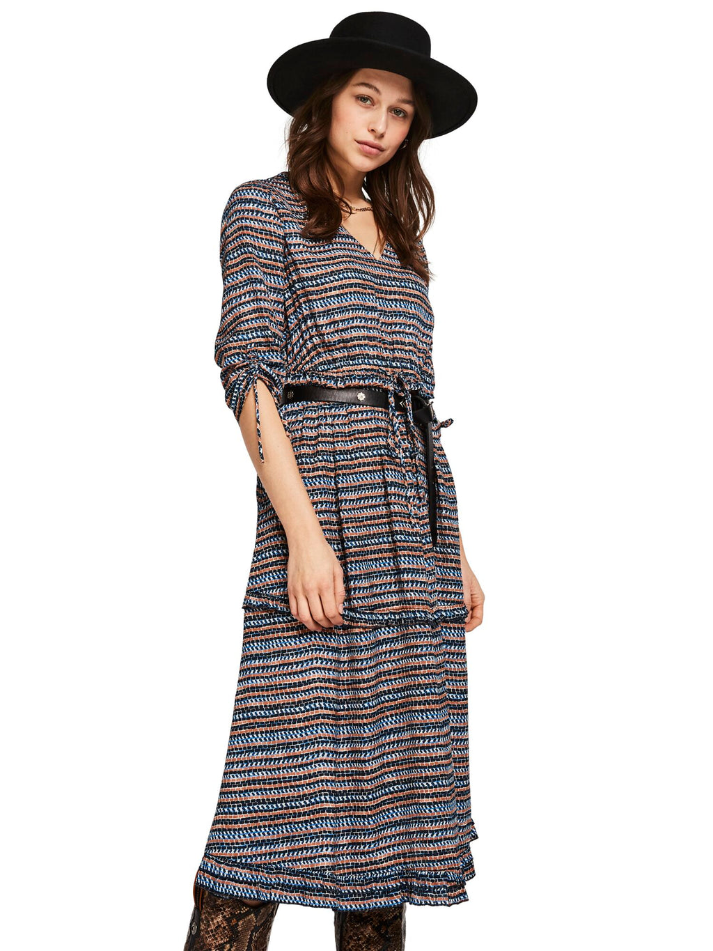 SCOTCH AND SODA - Printed Midi Dress online at PAYA boutique