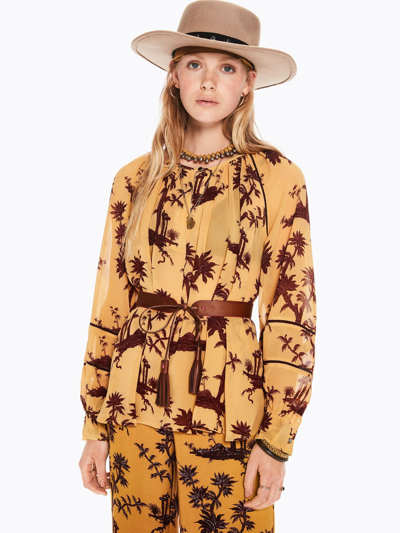 Buy Voluminous Printed Top from SCOTCH AND SODA at paya boutique