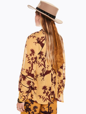 SCOTCH AND SODA - Voluminous Printed Top online at PAYA boutique