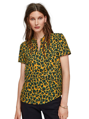 SCOTCH AND SODA - Short Sleeve Printed top online at PAYA boutique