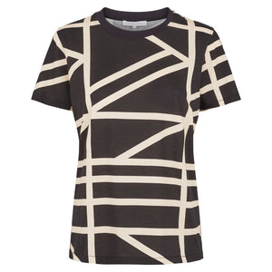 SECOND FEMALE - Grid Tee online at PAYA boutique