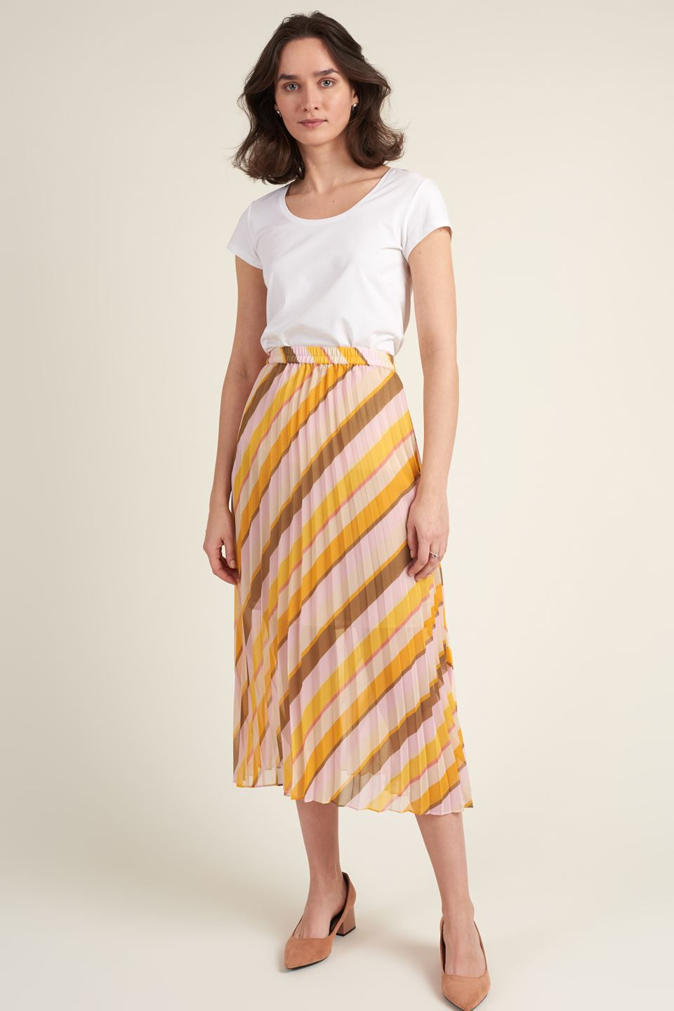 Buy Live Midi Skirt from SECOND FEMALE at PAYA boutique