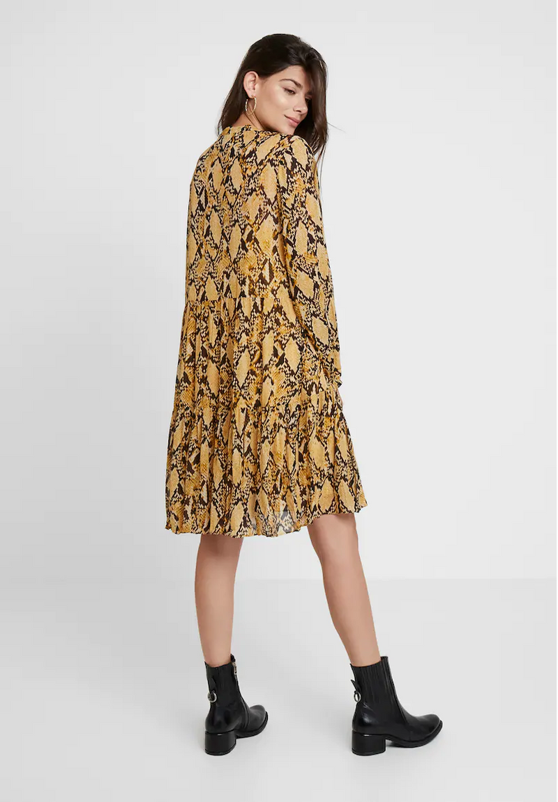 SECOND FEMALE - Snake Midi Dress online at PAYA boutique