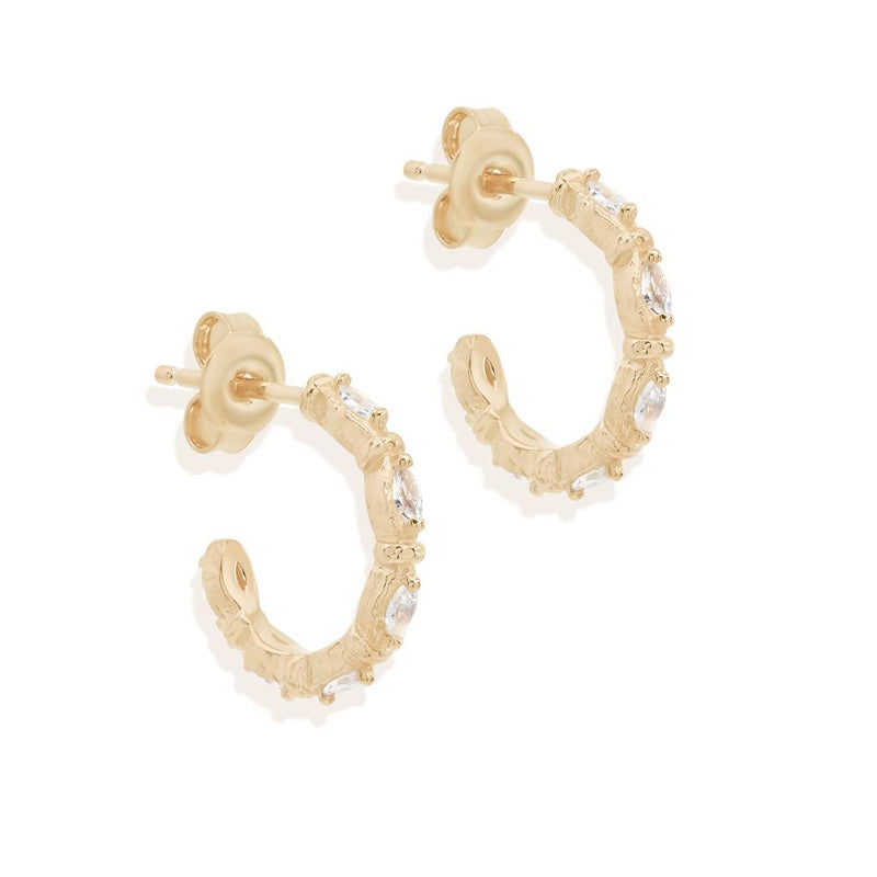 BY CHARLOTTE - Stars Align Hoop Earrings online at PAYA boutique