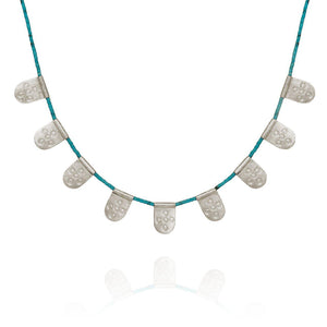TEMPLE OF THE SUN - Anatolia Necklace Turquoise online at PAYA boutique