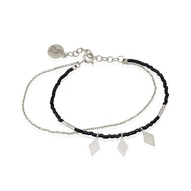 Buy Calli Bracelet Black Seed from TEMPLE OF THE SUN at PAYA boutique