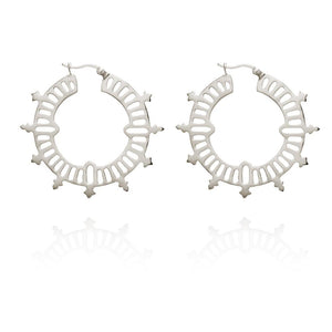 TEMPLE OF THE SUN - Krista Hoop Earrings online at PAYA boutique