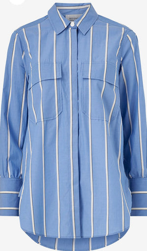 SECOND FEMALE - Tona Stripe Shirt online at PAYA boutique