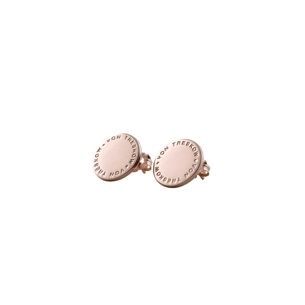 VON TRESKOW - Plate Stud Earrings online at PAYA boutique
