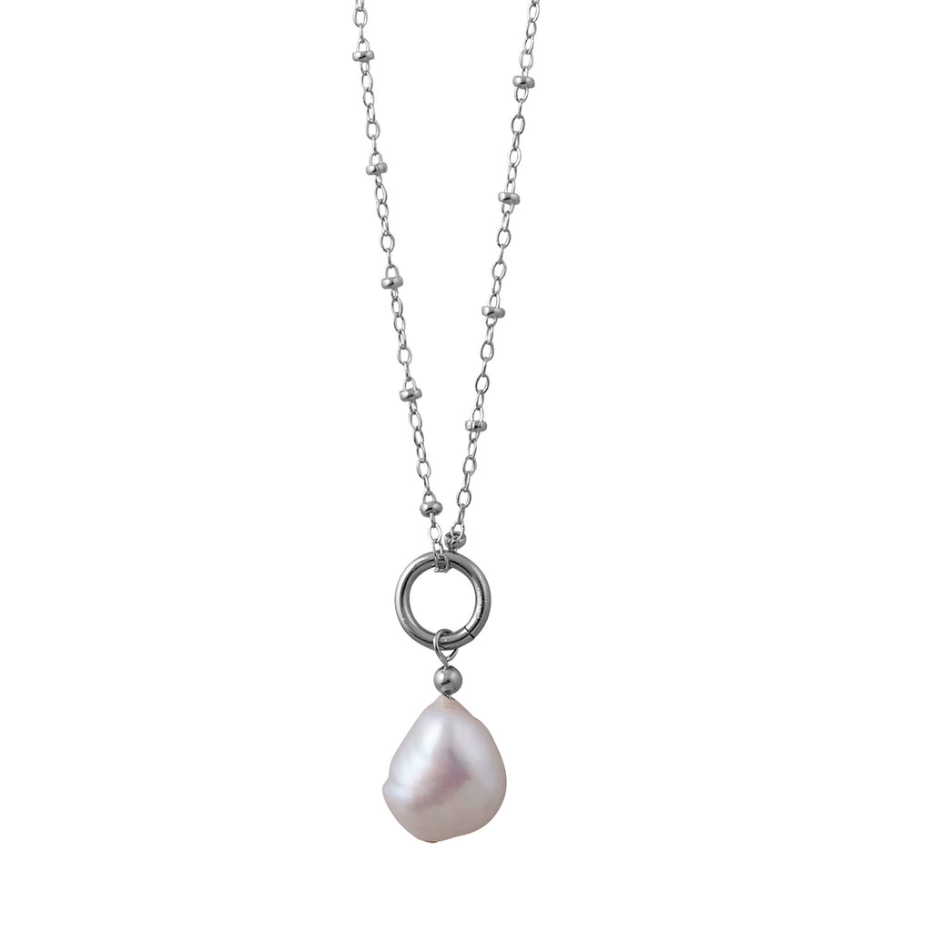 VON TRESKOW - Baroque Pearl Rosario Necklace online at PAYA boutique