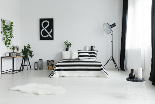 Black and white decoration Ideas