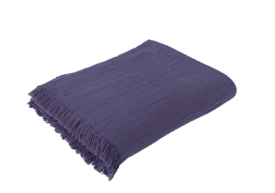 The Buldan Throw Plum
