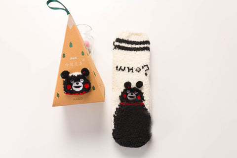 Christmas warm cartoon Printing socks