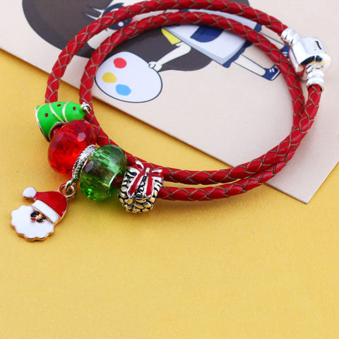 Fashion brief children's Christmas bracelet