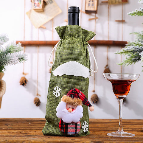 Christmas decoration supplies Christmas bottle set