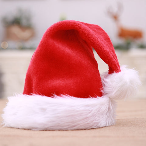 Christmas plush hats for parties