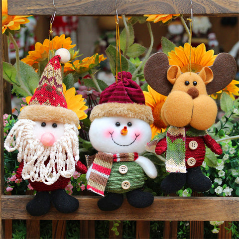 Creative Christmas decoration gift plush doll