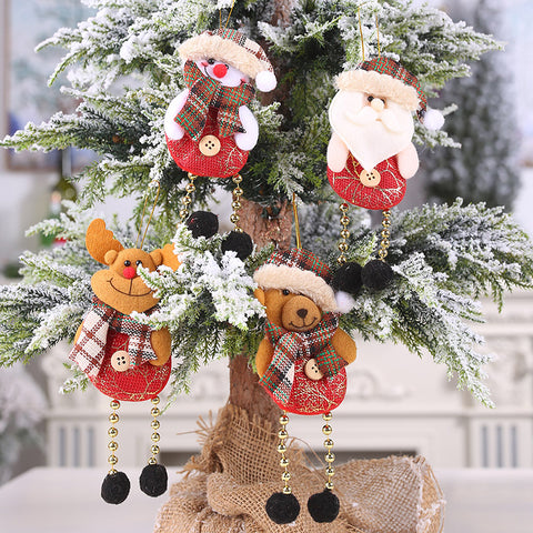 Christmas creative elk old man decoration ornaments