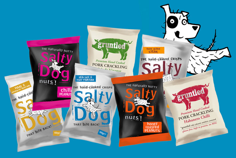 Introducing the Salty Dog Snack Box!