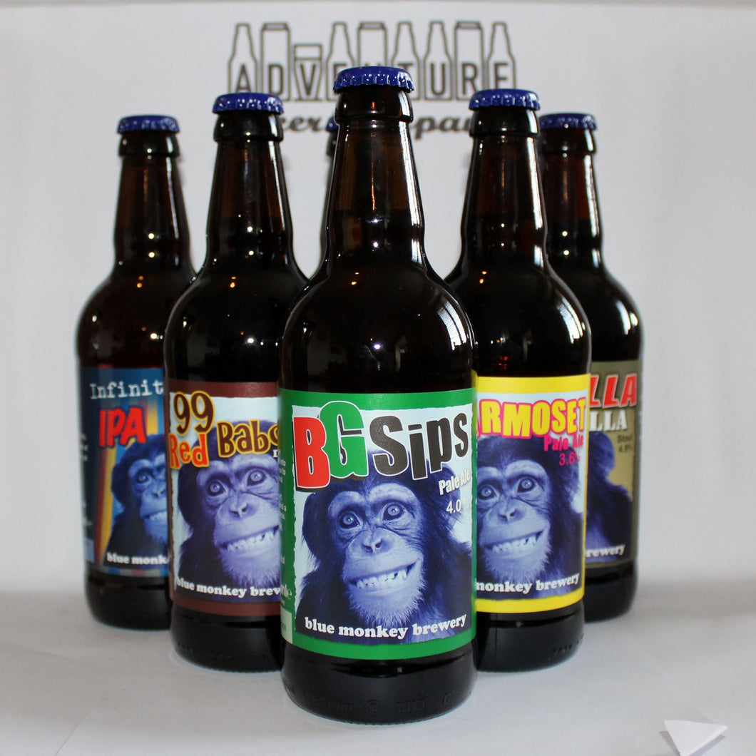 Blue Monkey - Mixed Case
