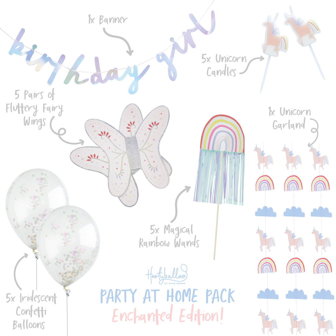 Enchanted Magical Party At Home Pack