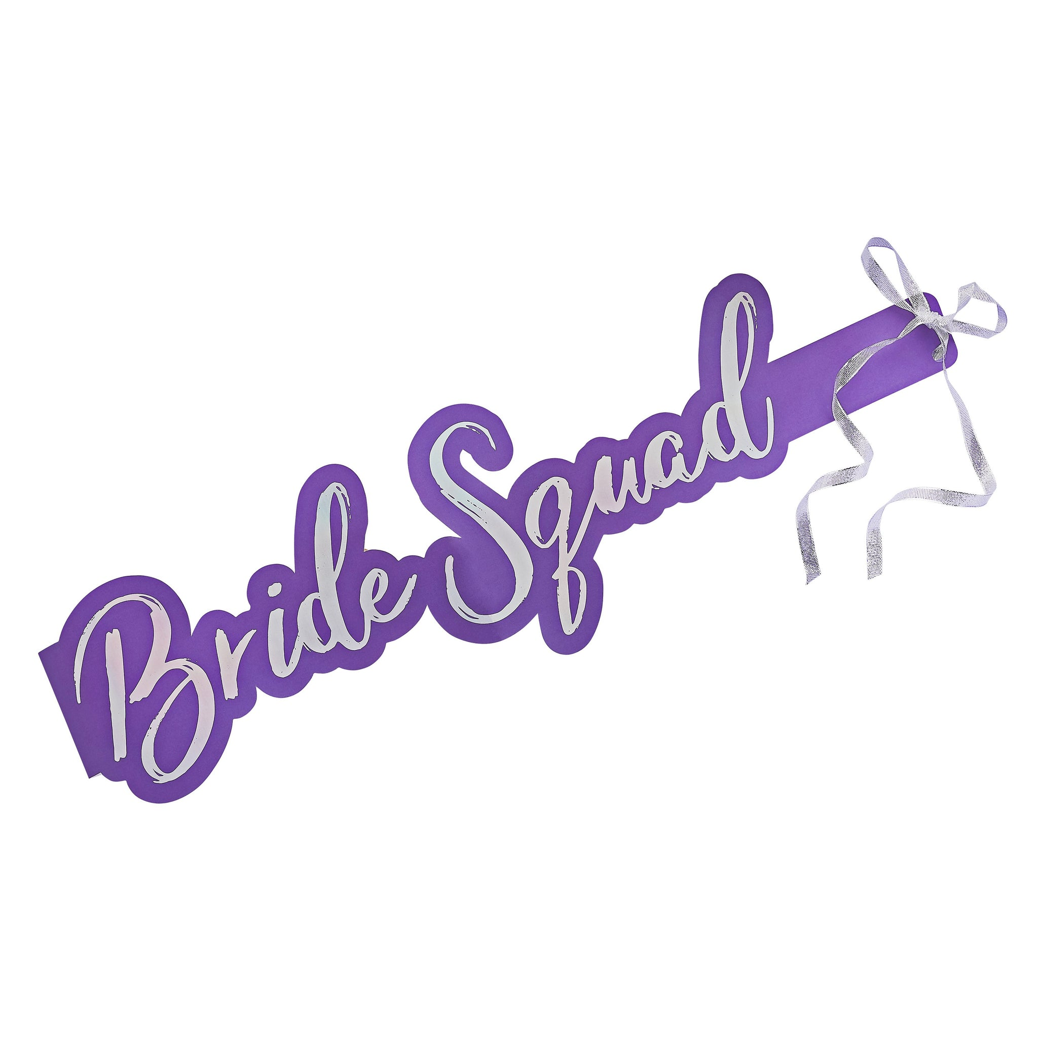 5 Bride Squad Sashes