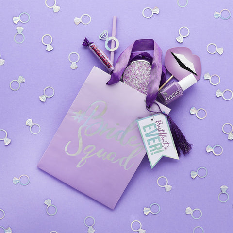 5 Bride Squad Party Bags