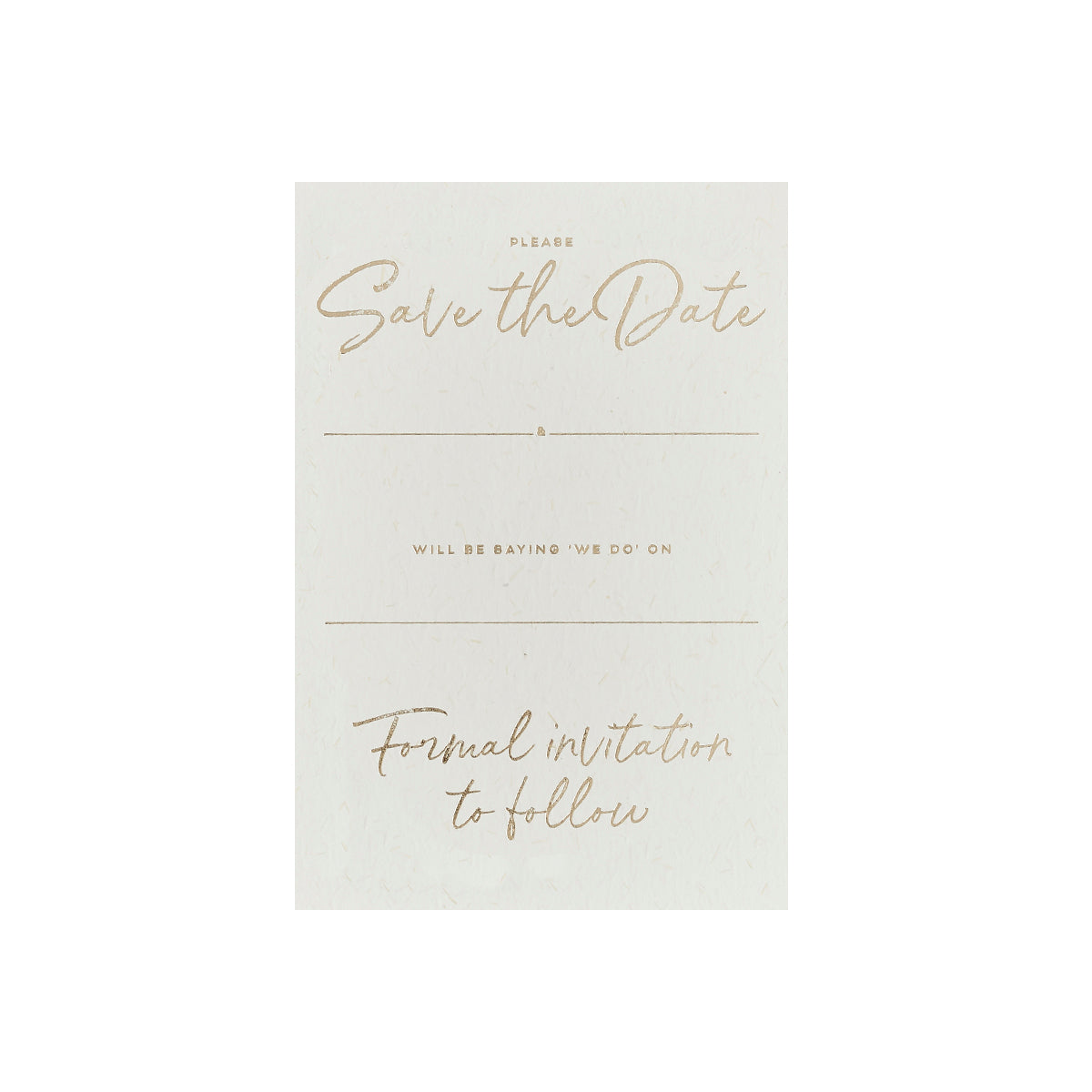 20 Gold Save the Dates