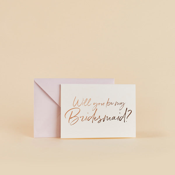 5 Will You Be My Bridesmaid Cards
