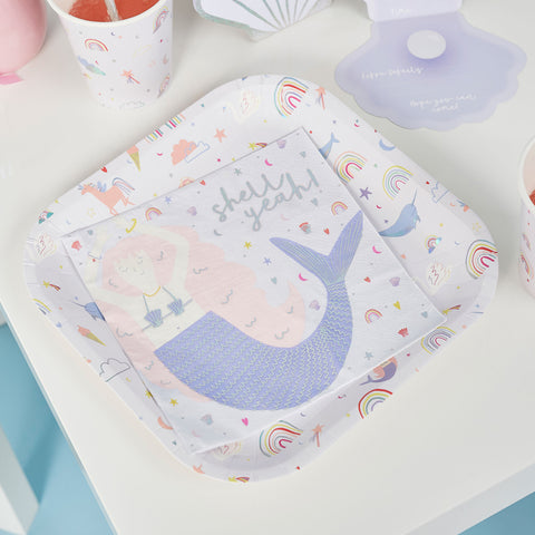20 Enchanted Magical Paper Party Napkins