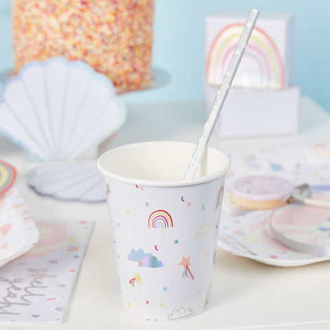 10 Enchanted Paper Cups