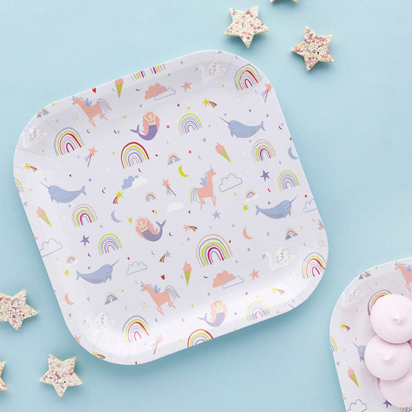 10 Enchanted Paper Plates