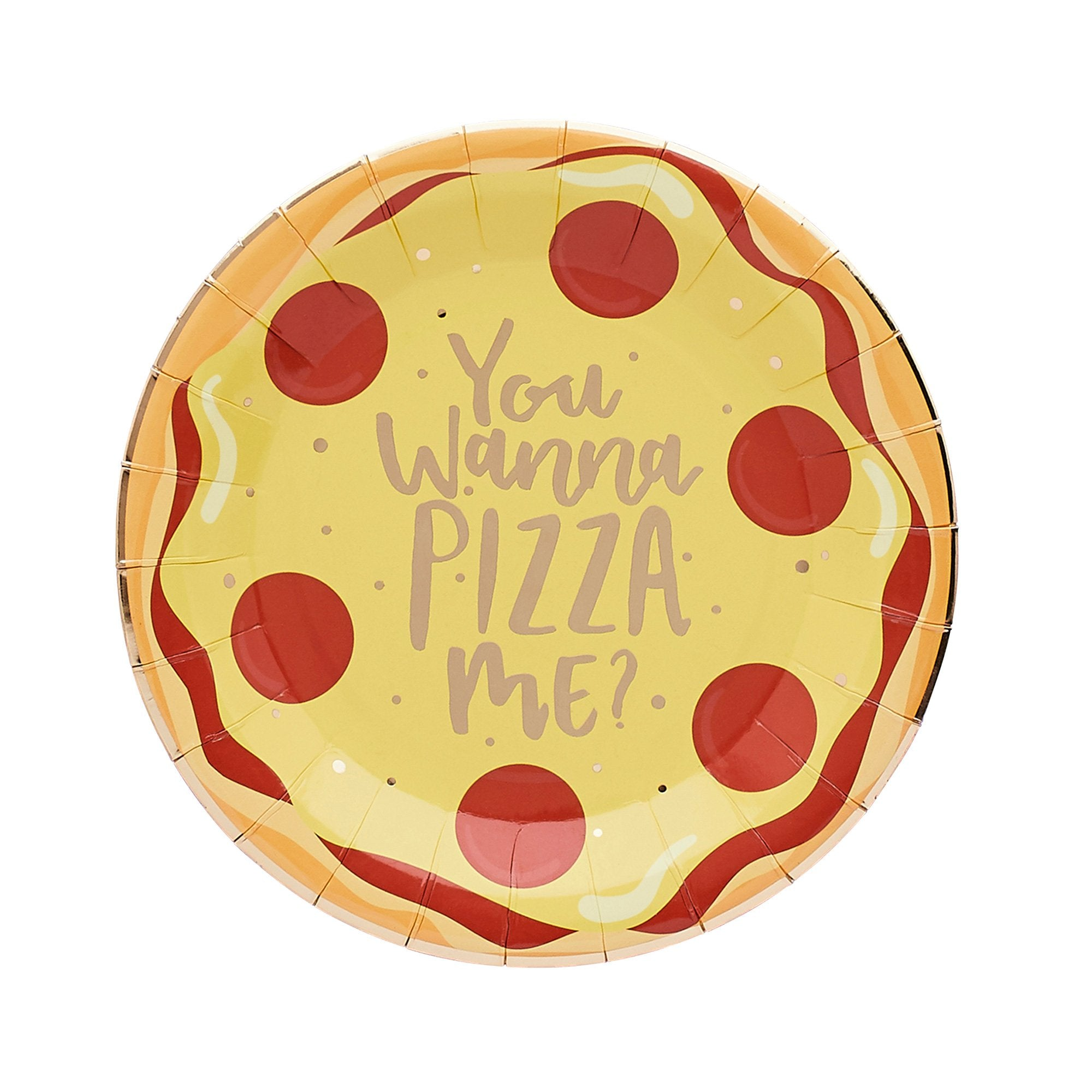 10 Pizza Paper Plates