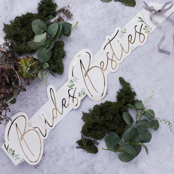 5 Brides Bestie's Sashes