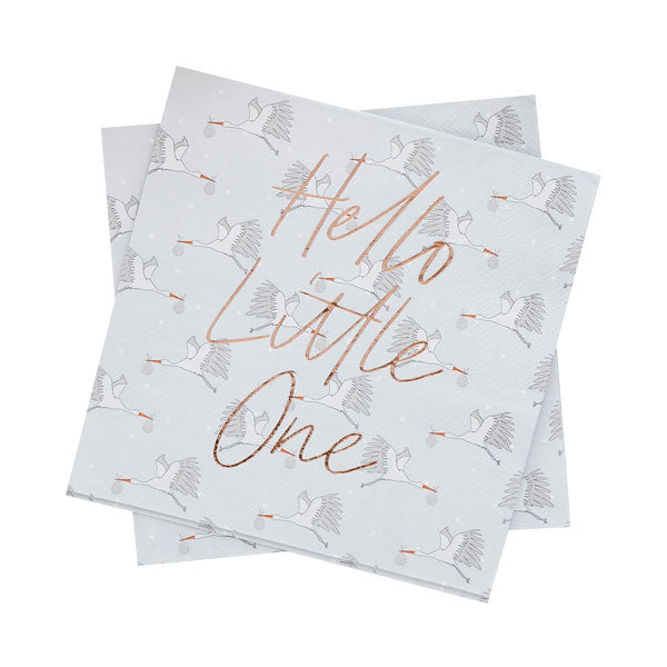 20 Hello Little One Napkins