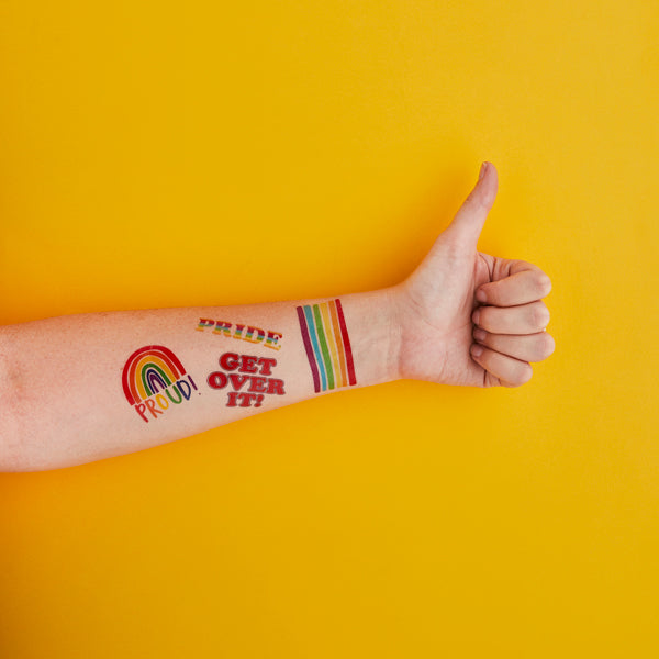 Pride Temporary Tattoos