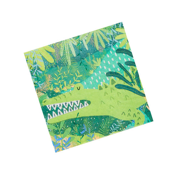 20 Snappy Birthday Napkins