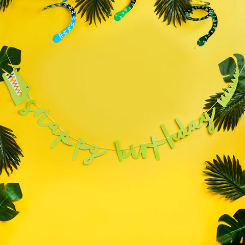 Snappy Birthday Banner