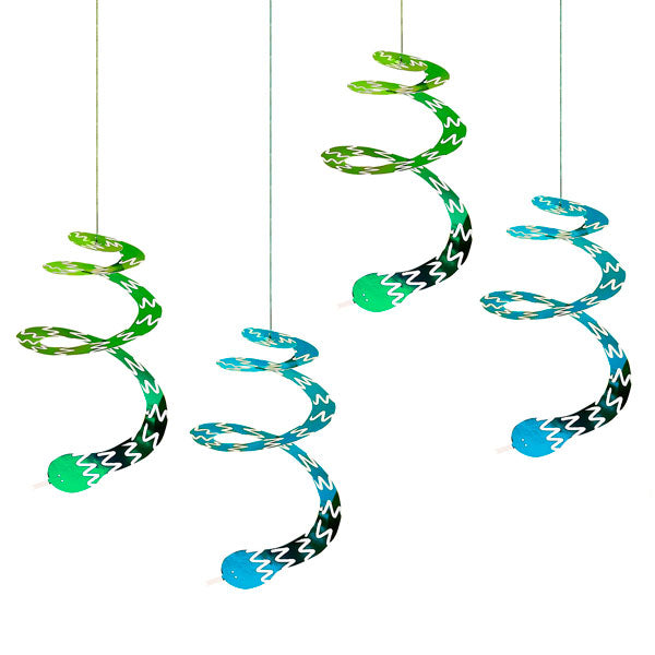 Swirly Snake Decorations