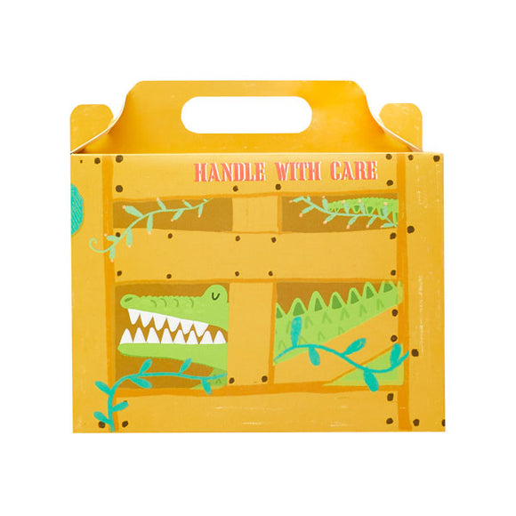 5 Jungle Crate Lunch boxes