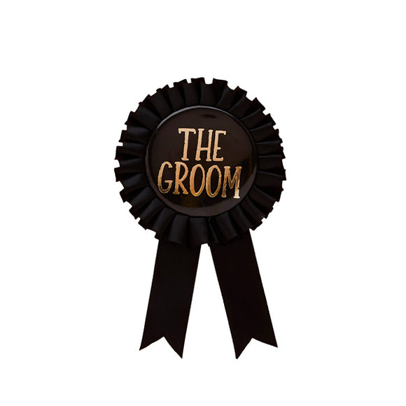 Groom Badge
