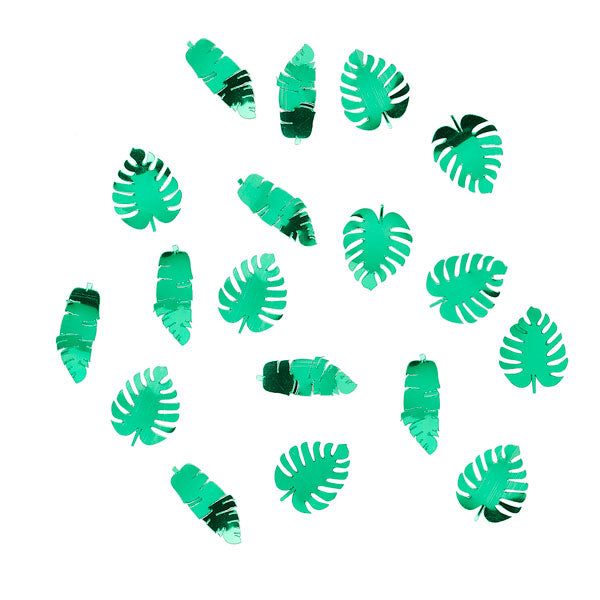 Tropical Leaf Confetti
