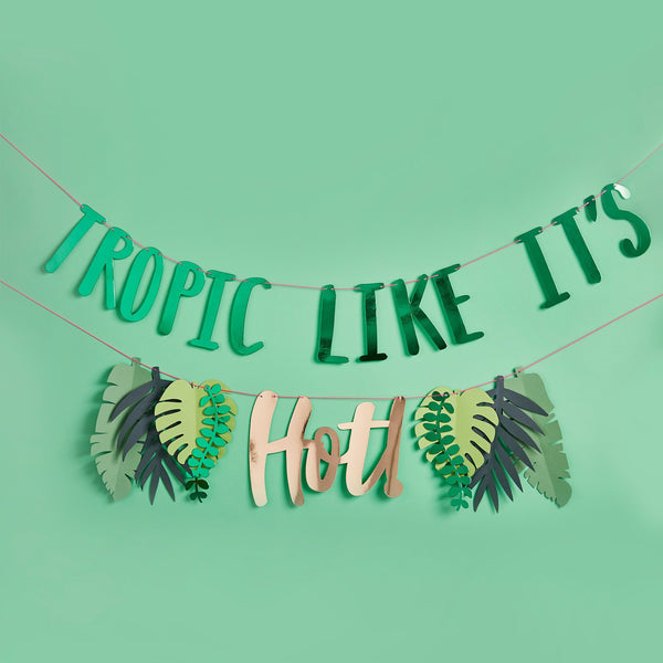 Tropic Like it's Hot Banner