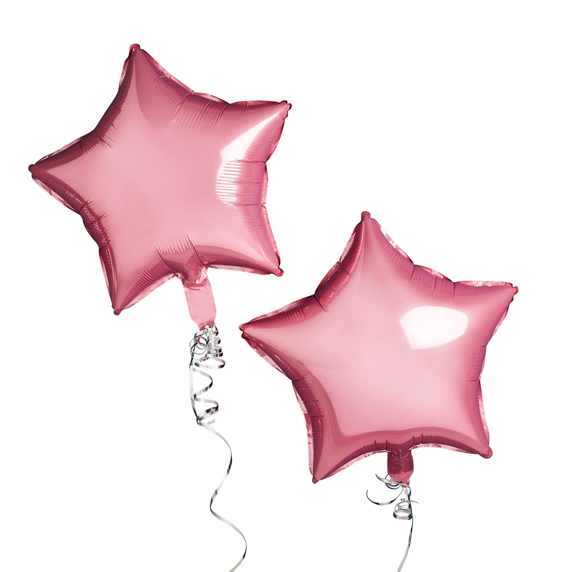 Pink Star Foil Balloons