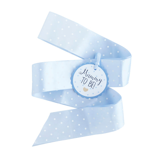 Blue 'Mummy To Be' Sash