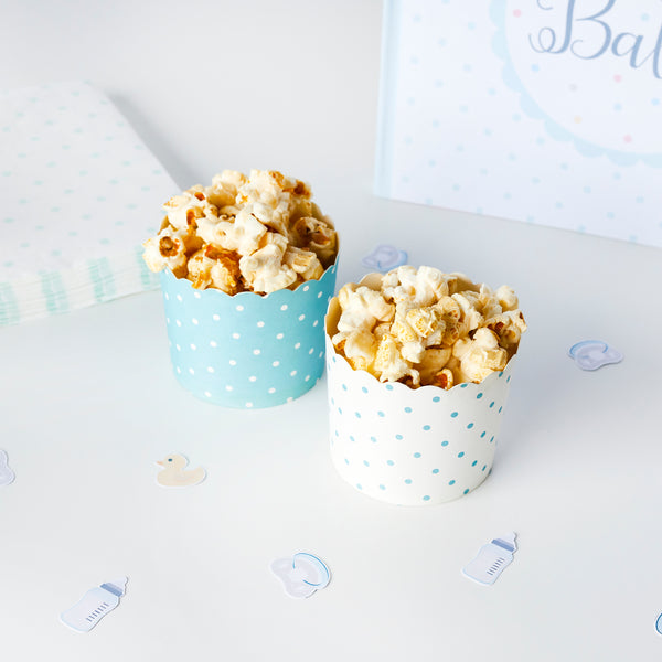 10 Unisex Spotty Food Cups