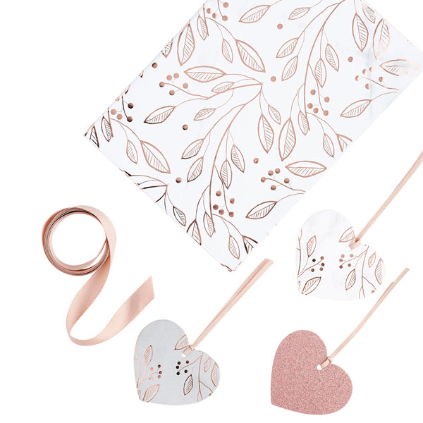 Rose Gold Gift Wrapping Kit
