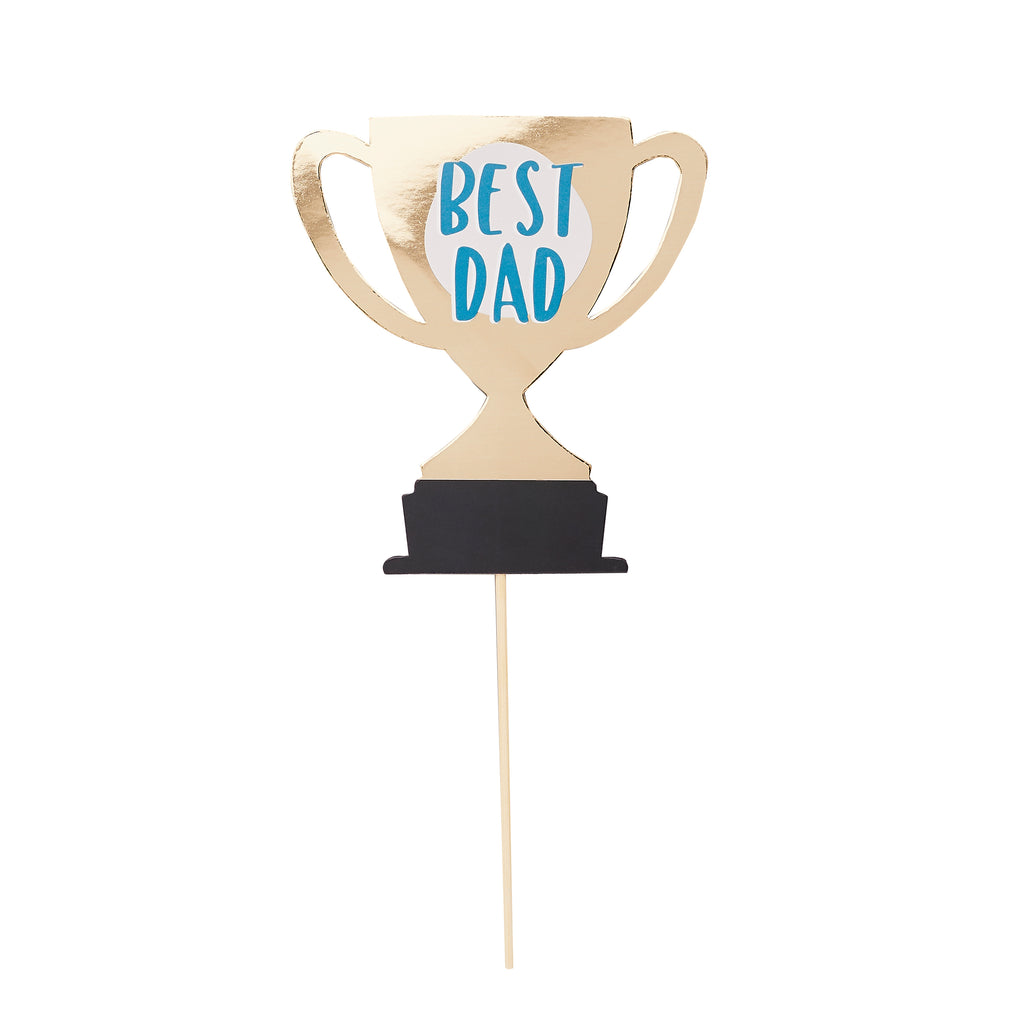 Father's Day Best Dad Cake Topper